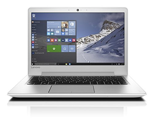 Lenovo ideapad 510S 33,78cm (13,3 Zoll Full HD Anti-Glare) Slim Multimedia Notebook (Intel Core i5-7200U, 3,1GHz, 8GB RAM, 256GB SSD, Intel HD Grafik 620, Windows 10 Home) weiß