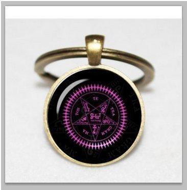 (Black Butler Vertrags Seal Sebastian Michaelis Demon Vertrag Art Anime Jewelry Black Butler Schlüsselanhänger)