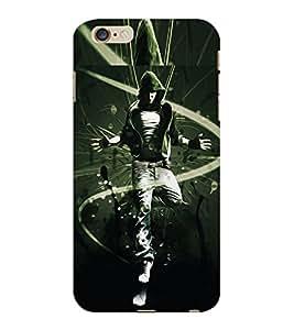 ColourCraft Dancing Boy Design Back Case Cover for APPLE IPHONE 6 PLUS