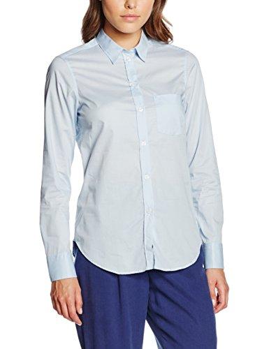 filippa-k-classic-stretch-shirt-chemisier-femme-bleu-lt-blue-36