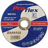 32055Connect Appareil Abracs 100mm x 3.2mm disques de coupe plat (Lot de 10)