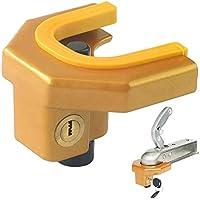Cerradura de enganche universal resistente para enganche de remolque para acoplamientos de 1-7/8 pulgadas a 2-5/16 pulgadas