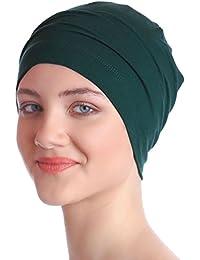 Coiffe Essentielle Pour Perte De Chimio, Cheveux – Bonnet De Nuit (Jade vert)