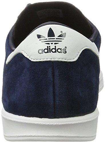adidas Hamburg, Scarpe da Ginnastica Basse Uomo Blu (Collegiate Navy/footwear White/gold Metallic)