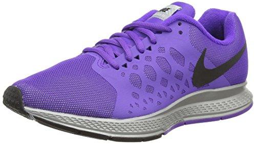 Nike Air Zoom Pegasus 31 Flash Damen Laufschuhe Violett (Reflect  Silver/Black/Hyper