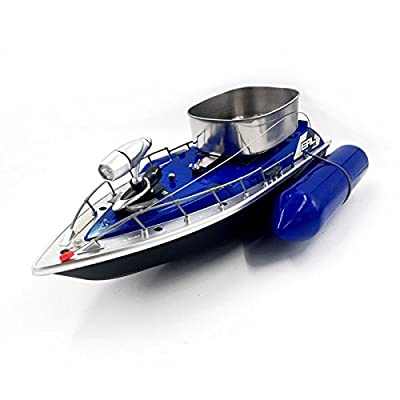 Z&HAO Electric Wireless Mini RC Bait Boat Fast RC Fishing Adventure Lure Bait Boat For Finding Fish,Blue by Z&HAO
