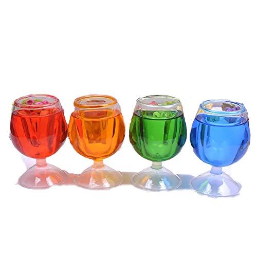 1pc Halloween Tricky Requisiten Lustige Wein-Gläser für Halloween und April Fools' Day (zufällige Farbe)