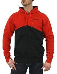 K1X Kapuzenjacke Männer Fullcourt Zipper Hoody black red - fällt normal aus