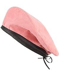 Sunbobo Casquillo del Sombrero de la Boina de Las Mujeres Mezcla de Lana  Boina Francesa para 614825599bf