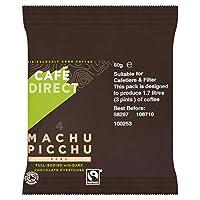 Organic Machu Picchu: Cafedirect Organic Machu Picchu Ground Coffee Sachets, 60