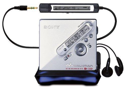 Sony MZ-N710/s MP3-MiniDisc-Rekorder Silber (Cd Sony Player Es)