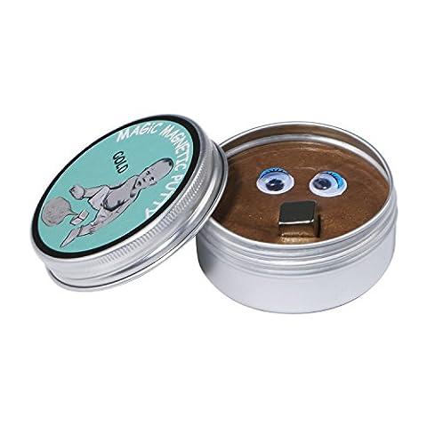 magnétique Mastic, rééducation de la main le stress Super Fun Slime Mastic Jouets avec mini Aimant et deux yeux...
