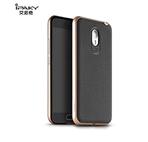 AE Original Brand Luxury For Xiaomi Redmi Note / Redmi Note Prime GOLD + Ultra-Thin Dotted Silicon Black Back +PC GOLD Frame Bumper