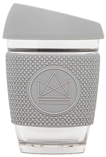Neon Kactus Reusable Coffee Cups (Grey)