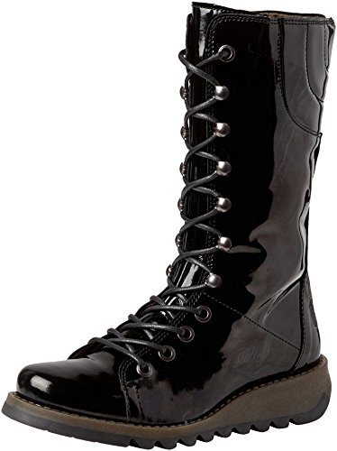 FLY London Damen Ster768fly Combat Boots, Schwarz (Black 010), 39 EU -