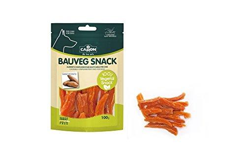 snack per cani 100% vegetali senza cereali alle patate dolci