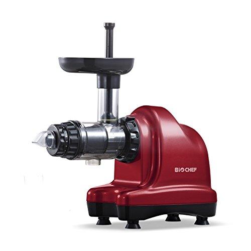BioChef Axis Slow Juicer / Kaltpress Entsafter / Horizontaler Entsafter / Saftpresse - 150Watt & 60U/min - ideal für Weizengras, Obst & Gemüse