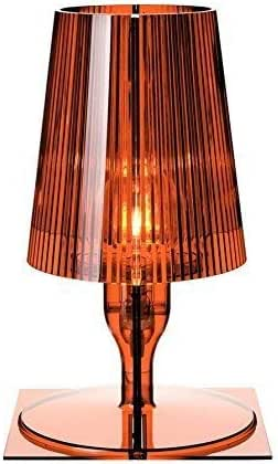 Kartell Take Lampada 40 W, Ambra/Arancione, 33 cm