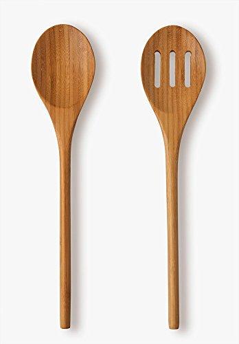 Set Classic da 2posate per insalata, in bambù di ottima qualità, L 29,5cm
