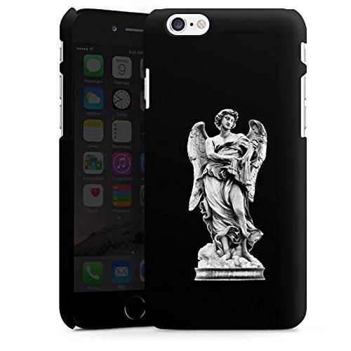 Apple iPhone X Silikon Hülle Case Schutzhülle Engel Statue Angel Premium Case matt