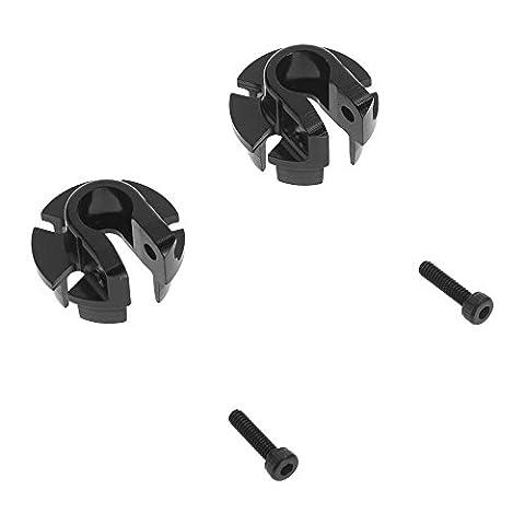 Axial ax31435Aluminium Shock Spring Retainer, 12mm, schwarz