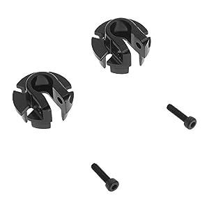 Axial AX31435 - Resorte de muelles de Aluminio (12 mm), Color Negro