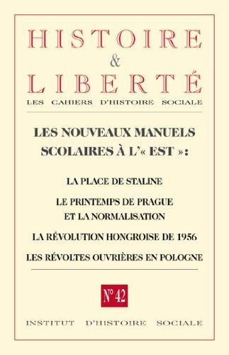 Revue Histoire et Liberté nº42 - Manue...