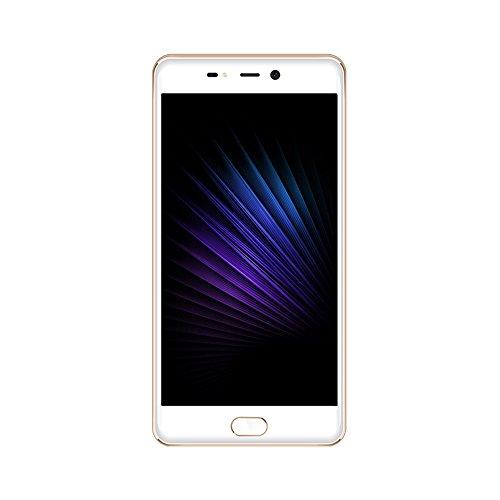 Leagoo T5-4G LTE Smartphone, 5.5 Pollici Phablet, Android 7.0 MTK6750T Octa Core 4GB + 64GB, Fotocamere Posteriori Doppie 13.0MP + 5.0MP w/Frontale 13.0MP, Telefono Cellulari Sbloccato, Oro