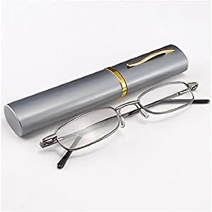 THG Eye Care Herren Lesebrille leicht Lesehilfe reading glasses mit Etui +2.00