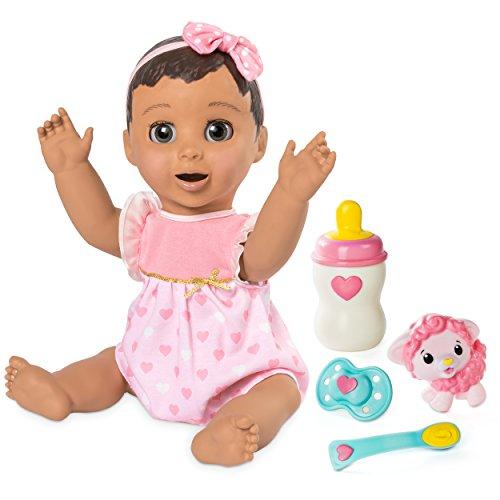 Luvabella 6038114Spielzeug-Puppe, englische - Flasche Baby-lernt