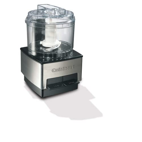 410W8BW9SPL. SS500  - Cuisinart Mini Chopper and Food Processor | 600ml Capacity | Stainless Steel | DLC1SSU