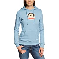 Paul Frank Sweatshirt Julius Head Hoodie - Sudadera con capucha, color azul, talla XS