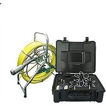 """GOWE 120m fibra de vidrio tubo de cable tubo de inspección cámara de alcantarillado Robot para diámetro 50–600mm Sensor tamaño: 1/4""""; horizontal Resolución: 700TVL; Sistema de señal: NTSC"""