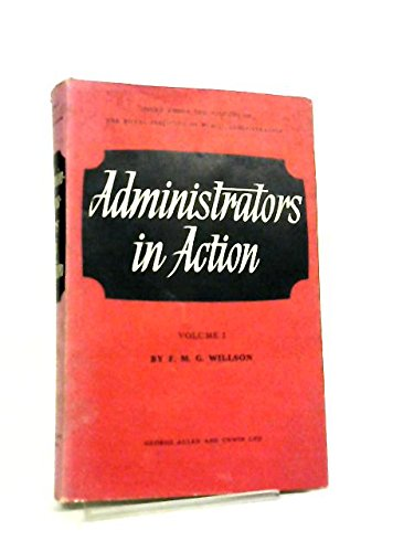 Administrators in Action Vol One