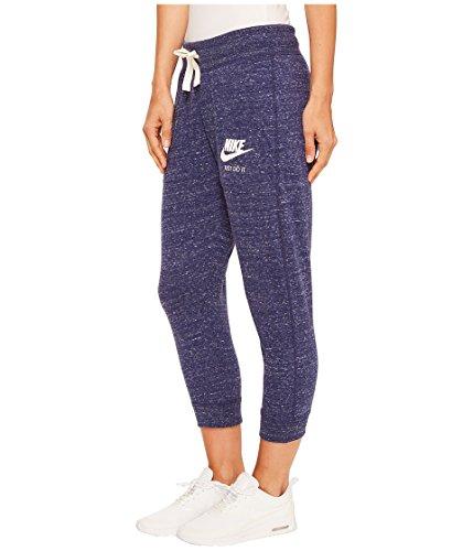 Nike Damen W Nsw Gym Vntg Cpri Lange Hose Binary Blue/Sail