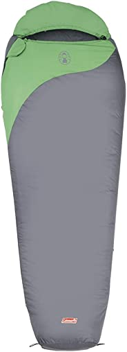 Coleman Biker, 2 Season Lightweight Sleeping Bag, Temperature -2 °C to +14 °C, 990 g