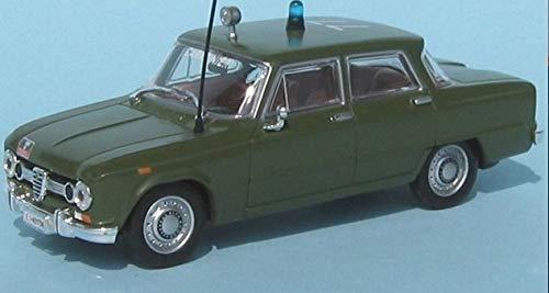 Die cast 1//43 Modellino Auto Carabinieri Alfa Romeo Giulia 1600 Super 1970
