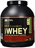 Optimum Nutrition Gold Standard Whey Eiweißpulver (mit Glutamin und Aminosäuren, Protein Shake von ON), Chocolate Mint, 74 Portionen, 2.27kg