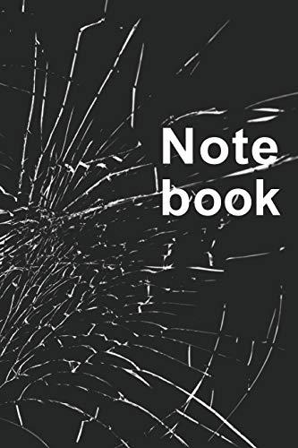 Notebook: Der Mensch Merkt Sich Dinge Besser Wenn Er Es Sich Aufschreibt I Mit Diesem A5 Notizbuch Im Coolen Design Zerbrochenes Glas Hast Du Das Richtige Werkzeug Um Alles Wichtige Festzuhalten.