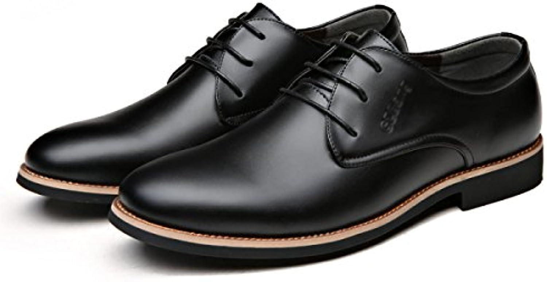 Herren Bewegung Derby Schuhe Herbst Winter Leder Mode Langlebig Warm Schuhe Handmade Bootsschuhe