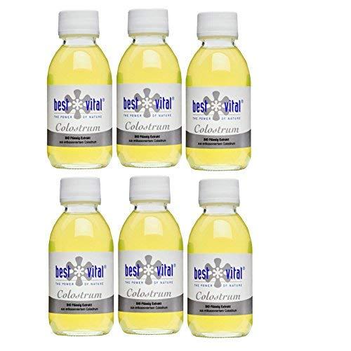 best vital Bio Colostrum Extrakt 6x125ml