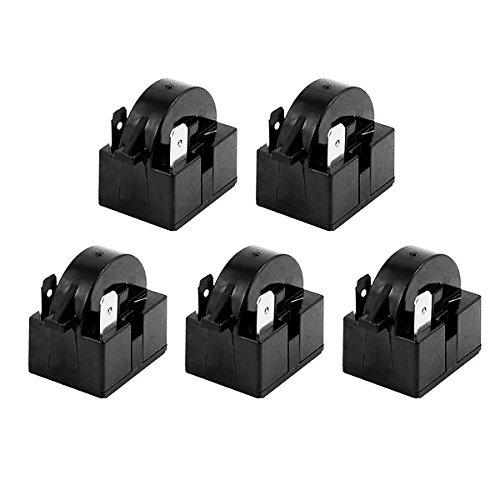 Saim Kunststoff Fall 22Ohm 2Pins PTC Starter Relais für Kühlschrank 5PCS - Ptc-pc