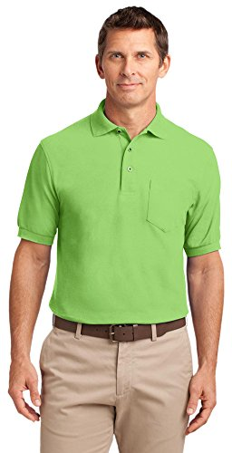 Port Authority Herren Poloshirt Lime