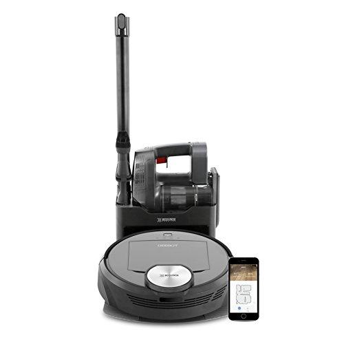 ECOVAS ROBOTICS DEEBOT R98 - Sistema de limpieza 2 en 1 inalámbrico con autovaciado, tecnología SMART...