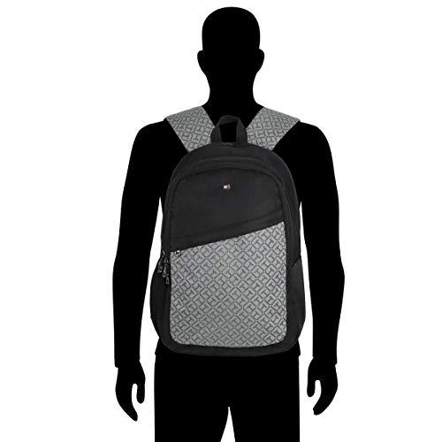 Best tommy hilfiger backpack in India 2020 Tommy Hilfiger 19.53 Ltrs Black Laptop Backpack (TH/BIKOL01VIS) Image 7