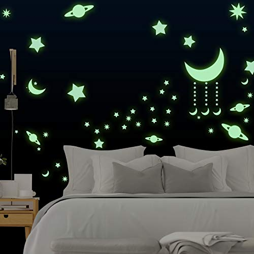 Estrellas Fluorescentes Domserv Luminoso Pegatinas