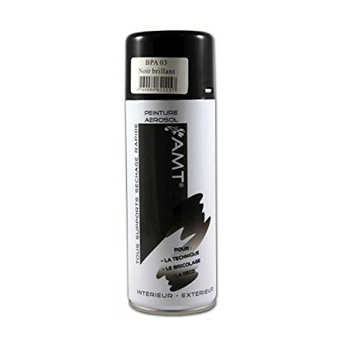 bombe-peinture-aerosol-noir-brillant