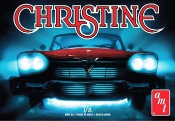 AMT Model Kit - Christine 1958 Plymouth Car - 1:25 Scale - AMT801 - - Fury Jungle Rot