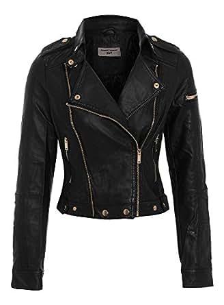 Original Women's Faux Leather Biker Jacket