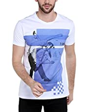 Dream of Glory Inc. Men's Half Sleeve Cotton Round Neck Printed T-Shirts for Men Also in Plus Sizes: XS- 8XL